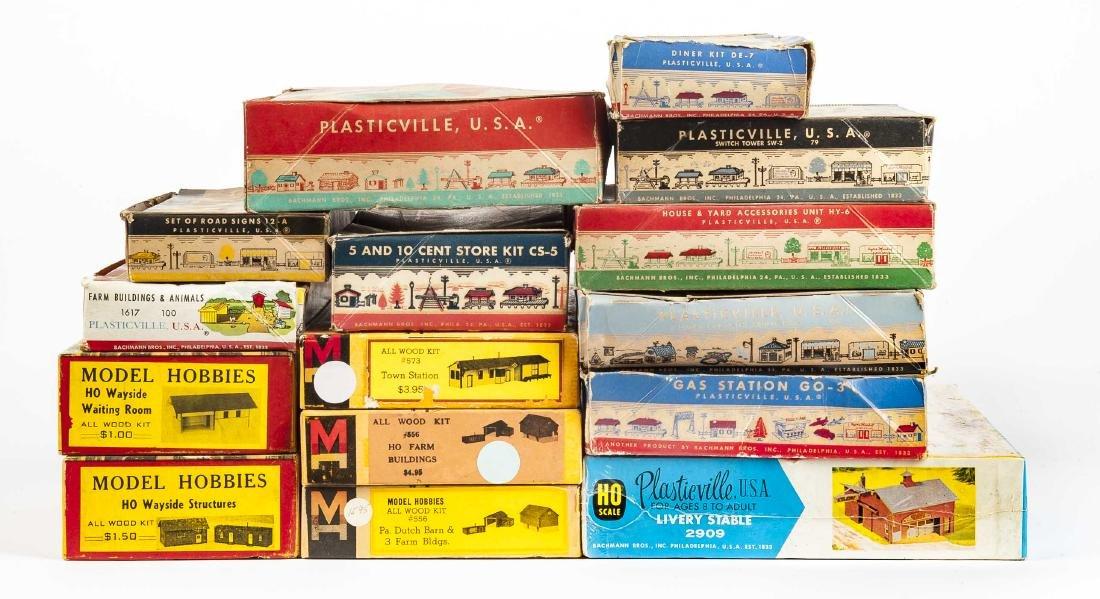 15 Railroad Accessory Kits Incl Plasticville