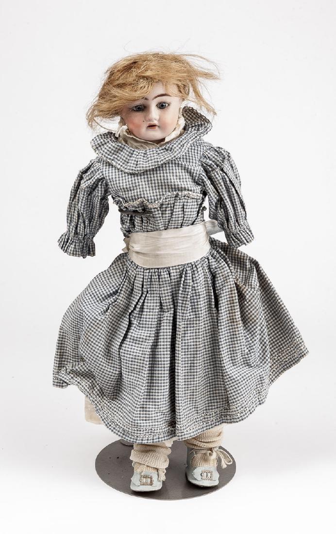 """Heinrich Handwerck 17"""" Bisque Head Doll"""
