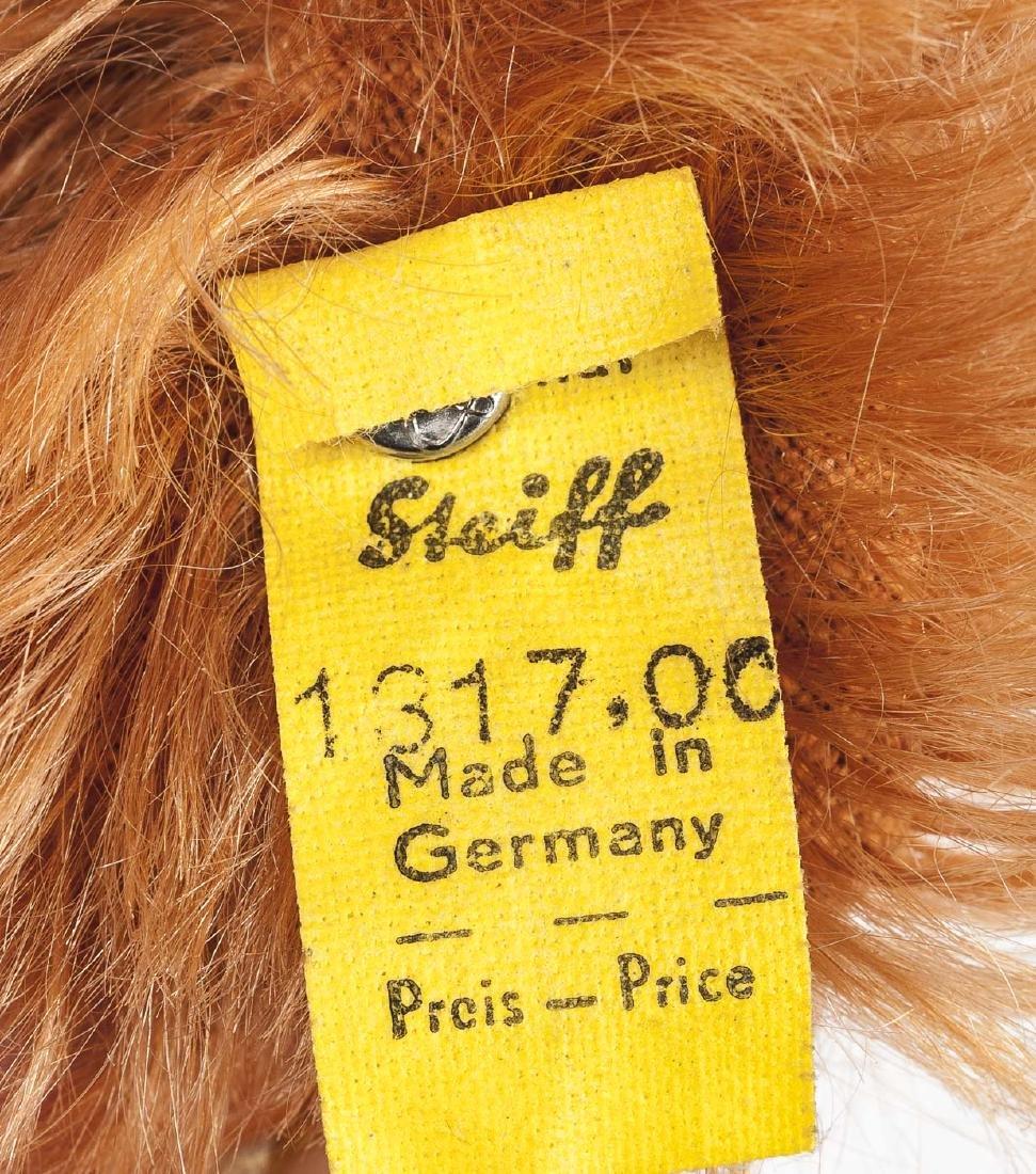 """Steiff Dachshund """"Waldi"""" with Button & Tags - 5"""