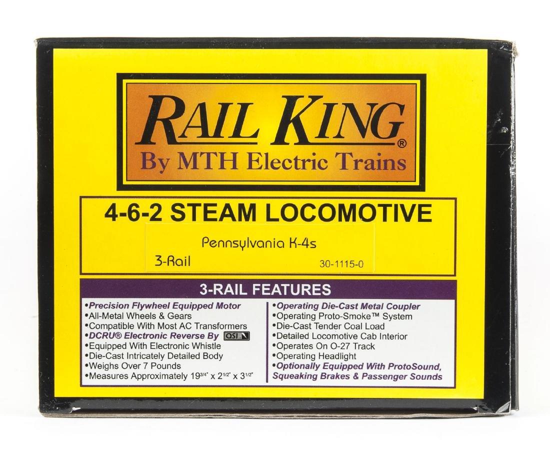 MTH RailKing Pennsylvania K-4s 4-6-2 Loco in OB