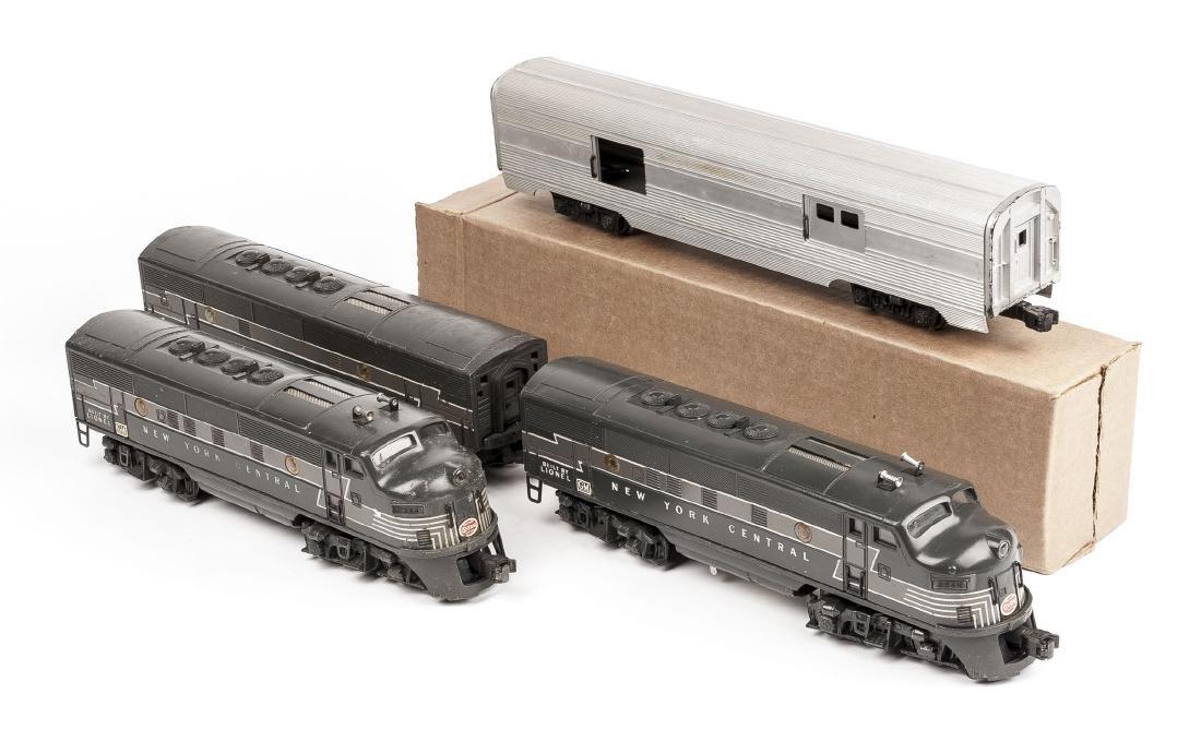 Assembled Lionel 2333 NYC Passenger Set
