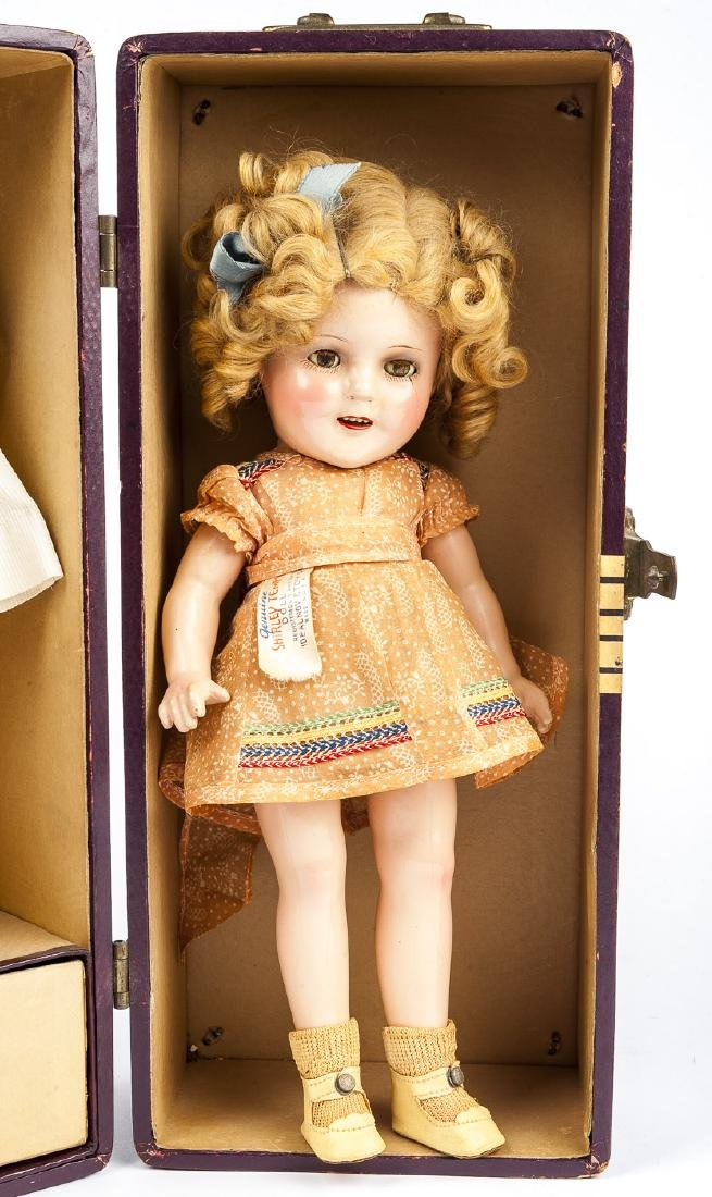 """12"""" Ideal Shirley Temple Composition Doll"""