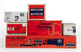 7 Lionel Die Cast Vehicles most in OBs
