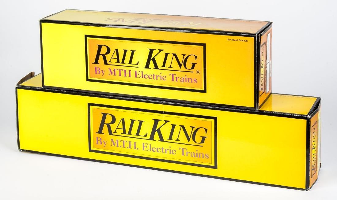 2 MTH RailKing Steam Engine Locos in OBs