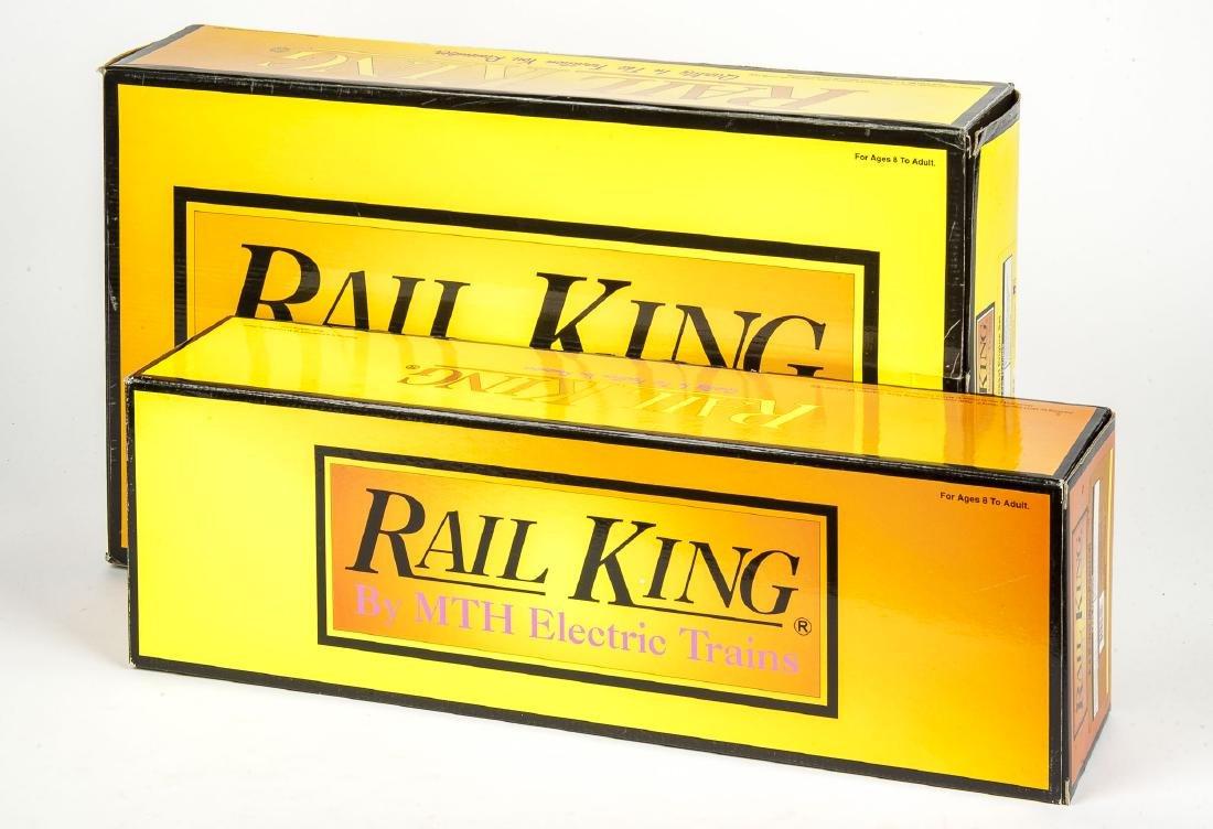 2 MTH RailKing Diesel Engines in OBs