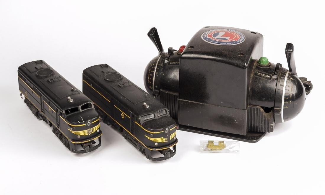 Lionel 2032 Erie Alco Loco Set & Transformer