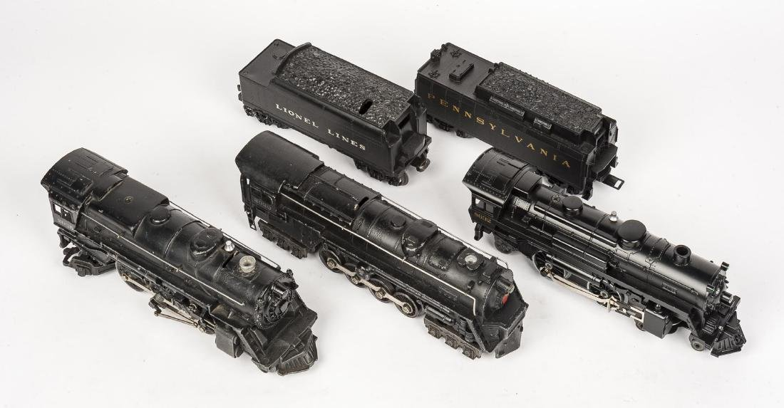 3 Lionel Steam Locomotives