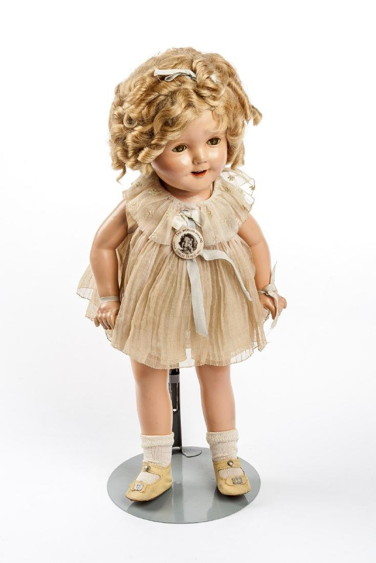 """Ideal 1930s 18"""" Shirley Temple Doll in OB"""