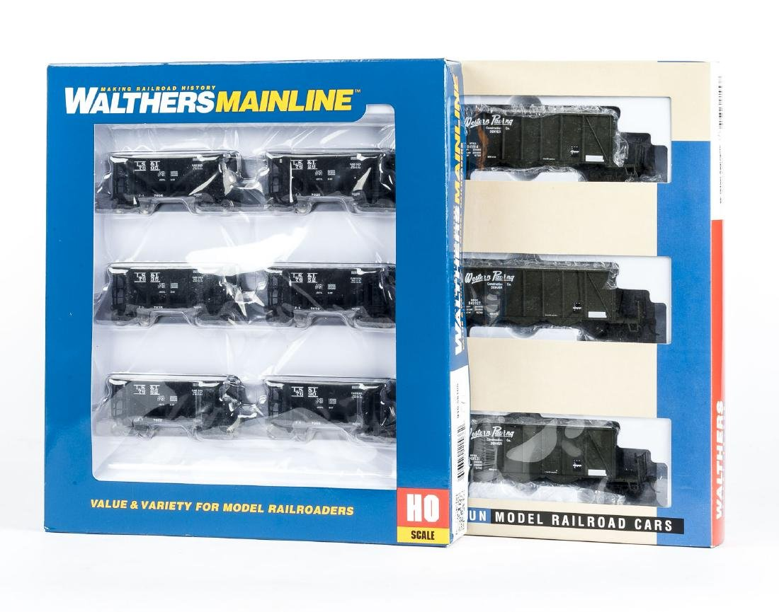2 Walthers HO Scale Multi-Car Packs in OBs
