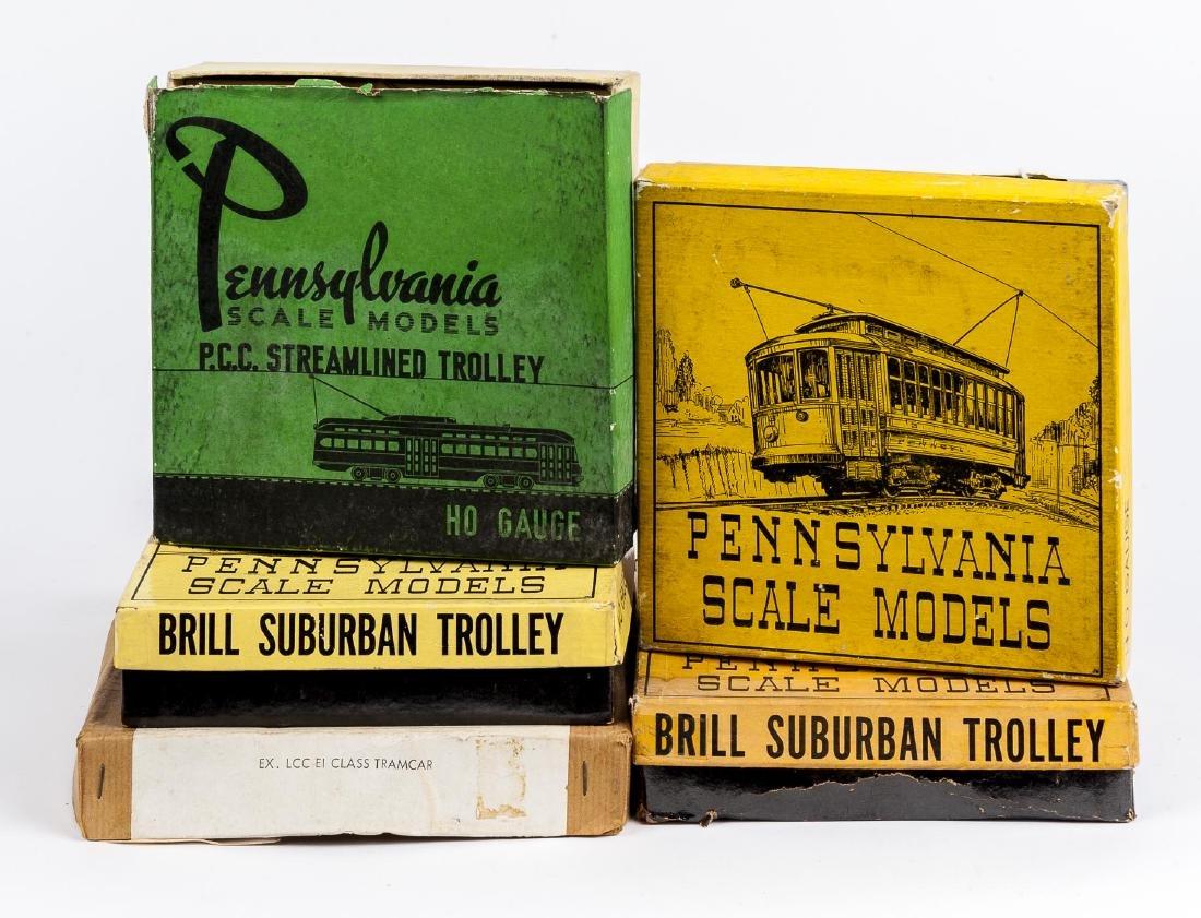 5 HO and OO Trolleys & Kits Incl Pennsylvania