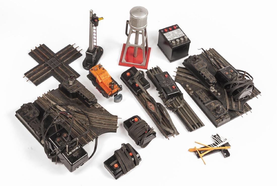 11 Lionel O Gauge Accessories incl Gang Car
