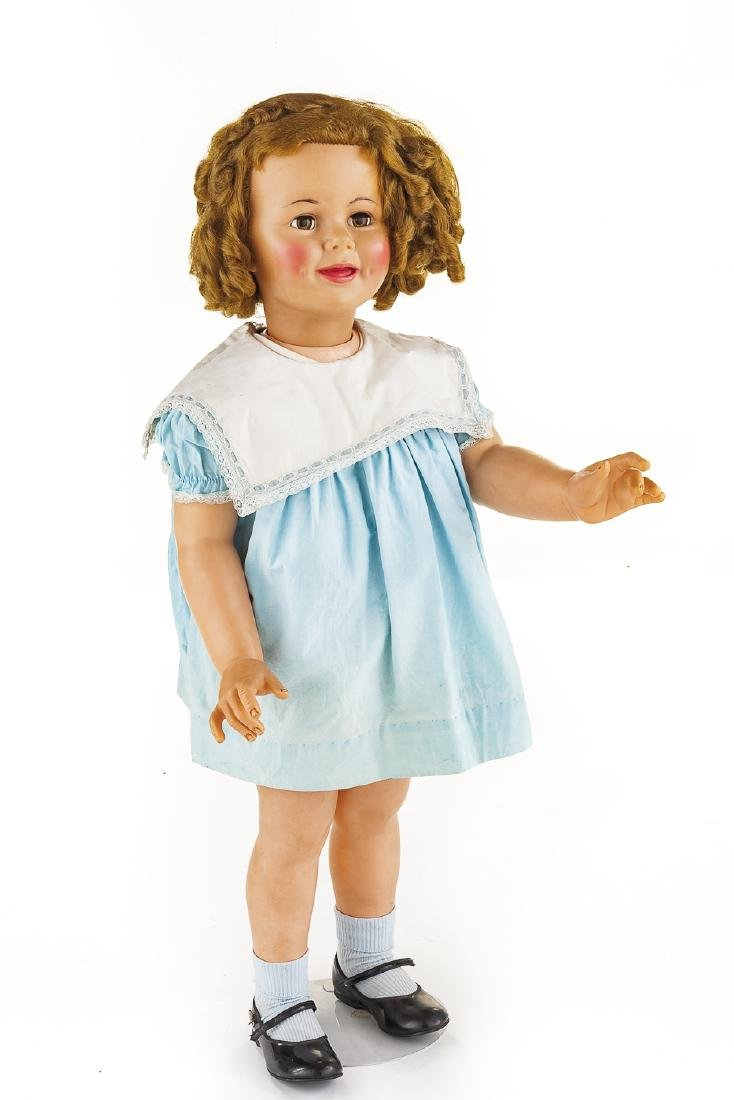 "Ideal 36"" vinyl Shirley Temple Doll"