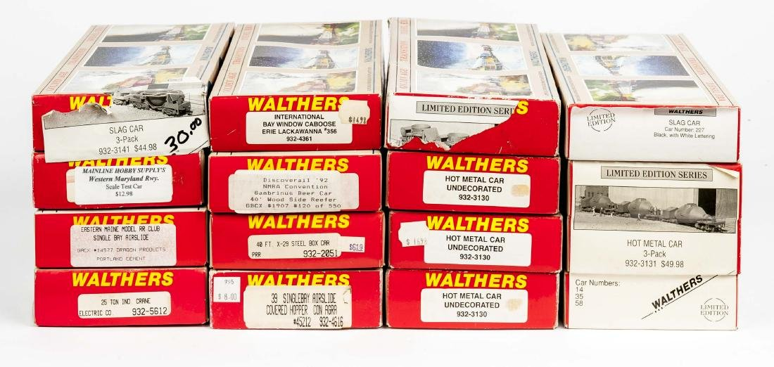 16 Walthers HO Kits in OBs incl Convention