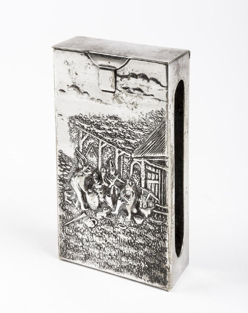 Danish Silver Cigarette Case