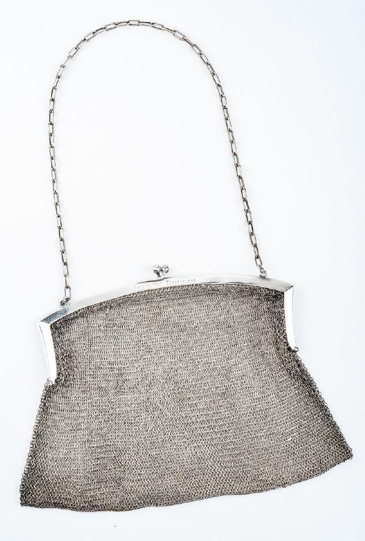 Sterling Mesh Handbag