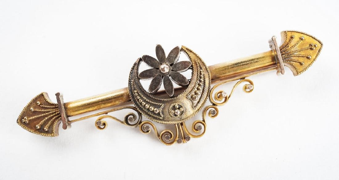 14K Victorian Bar Pin