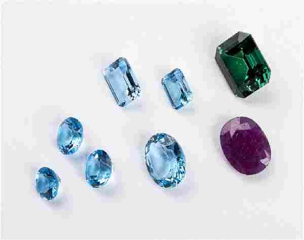 8 Loose Gemstones