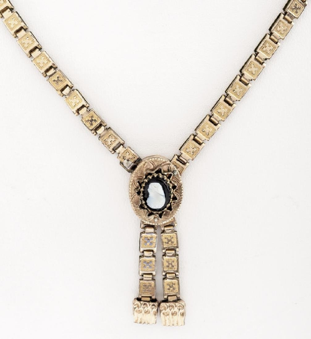 Victorian Book Chain Necklace