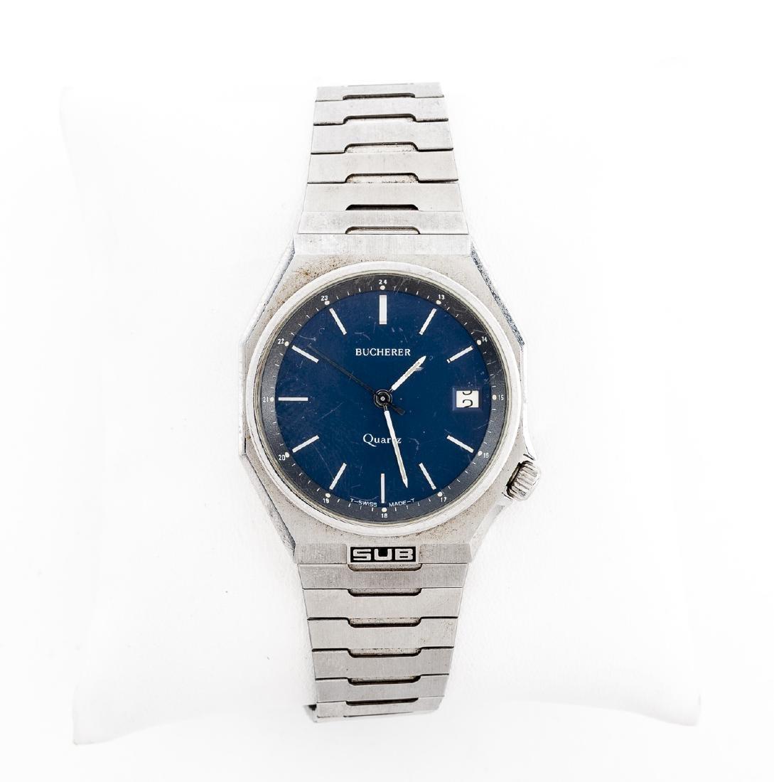 Bucherer Sub Mens Wristwatch