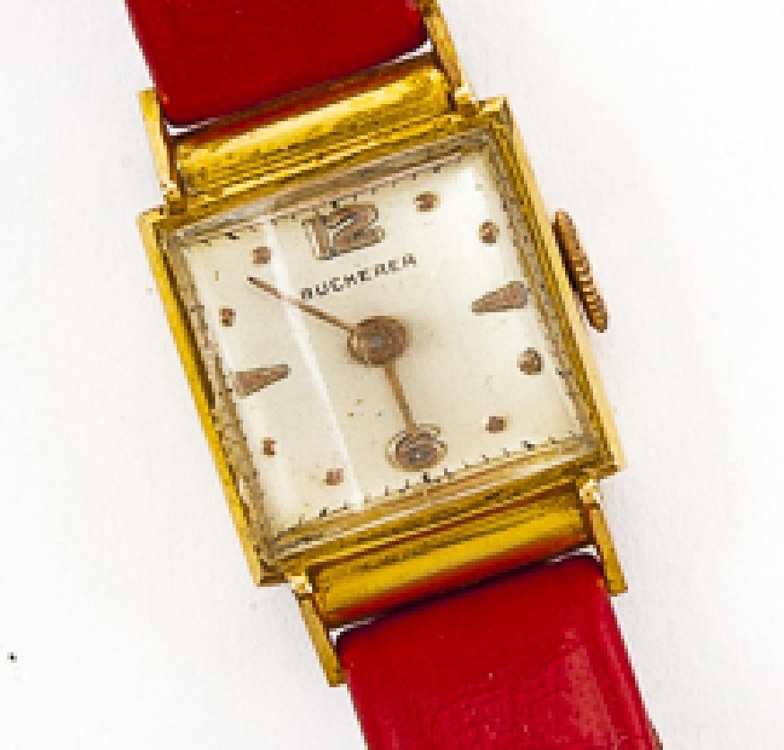 Vintage Bucherer 18K Ladies Wristwatch