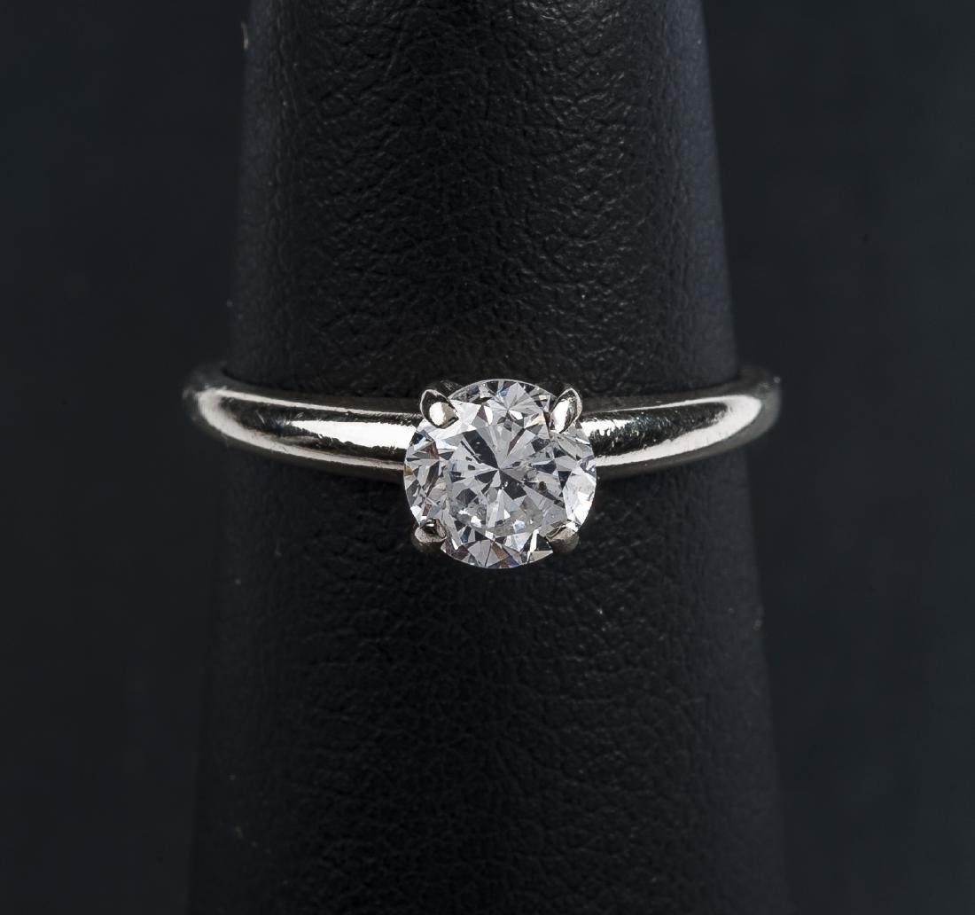 14K .67 Carat Diamond Solitaire Ring