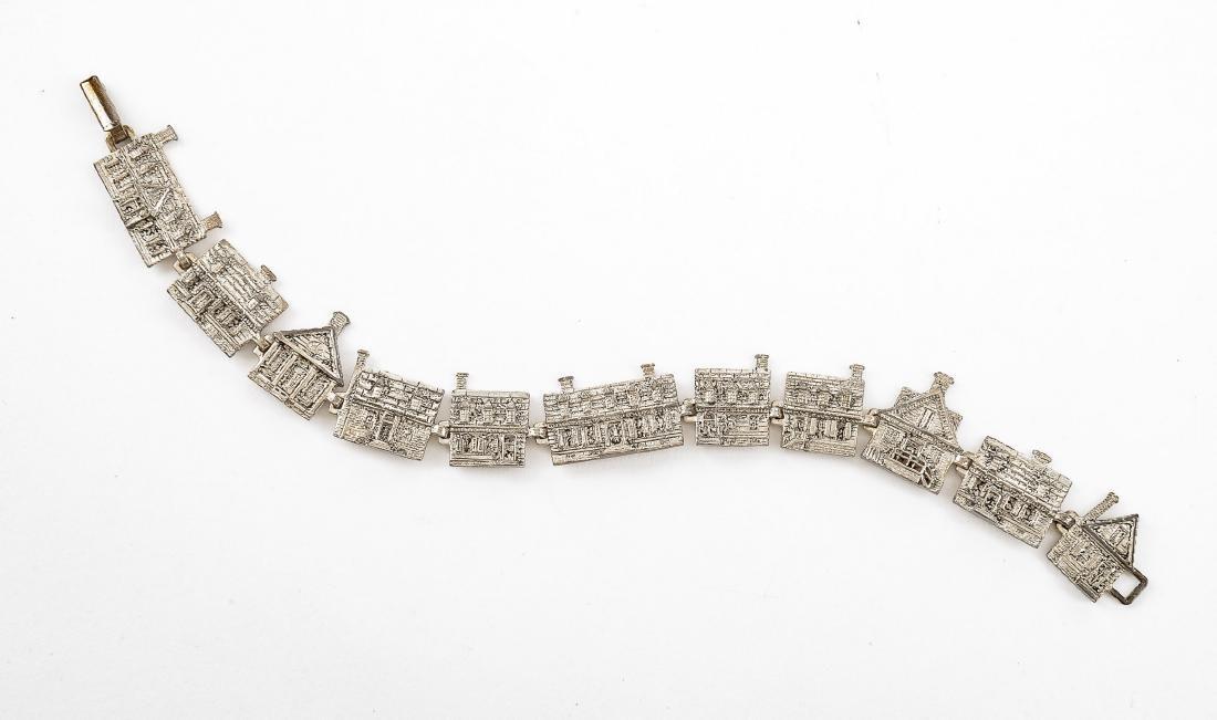 Sterling Duke of Gloucester Charm Bracelet