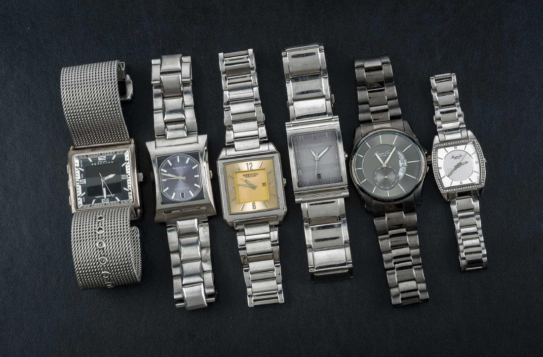 6 Kenneth Cole Wristwatches