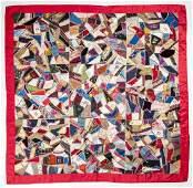 Handmade Crazy Quilt 1885