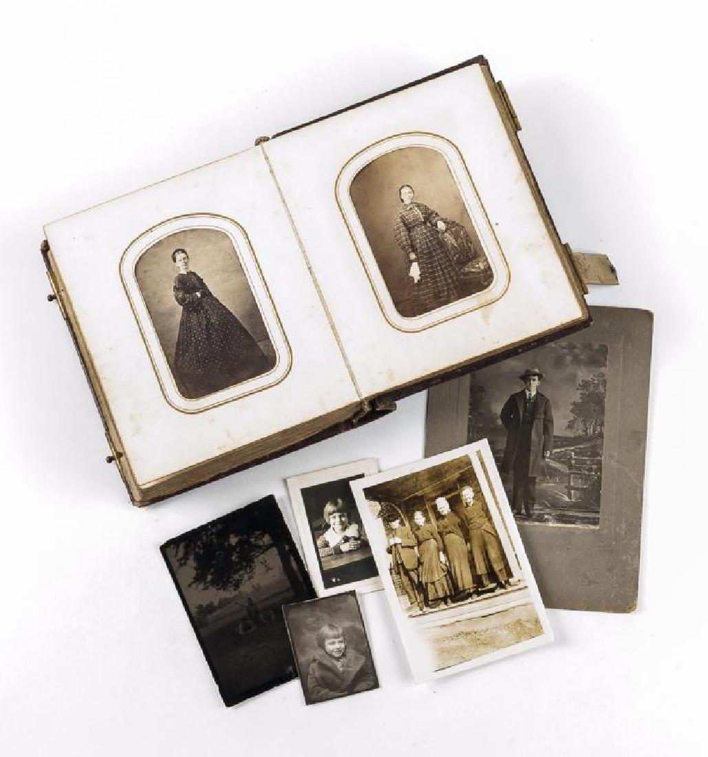 Vintage Photograph Album Incl Fireman & Carpenters - 7