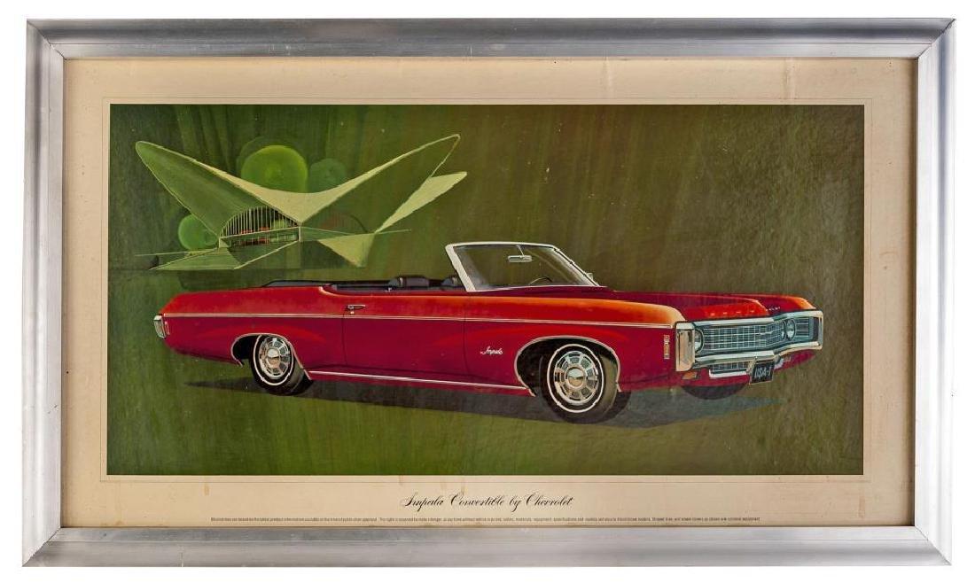 1965 Chevrolet Impala Dealer Promotional Poster