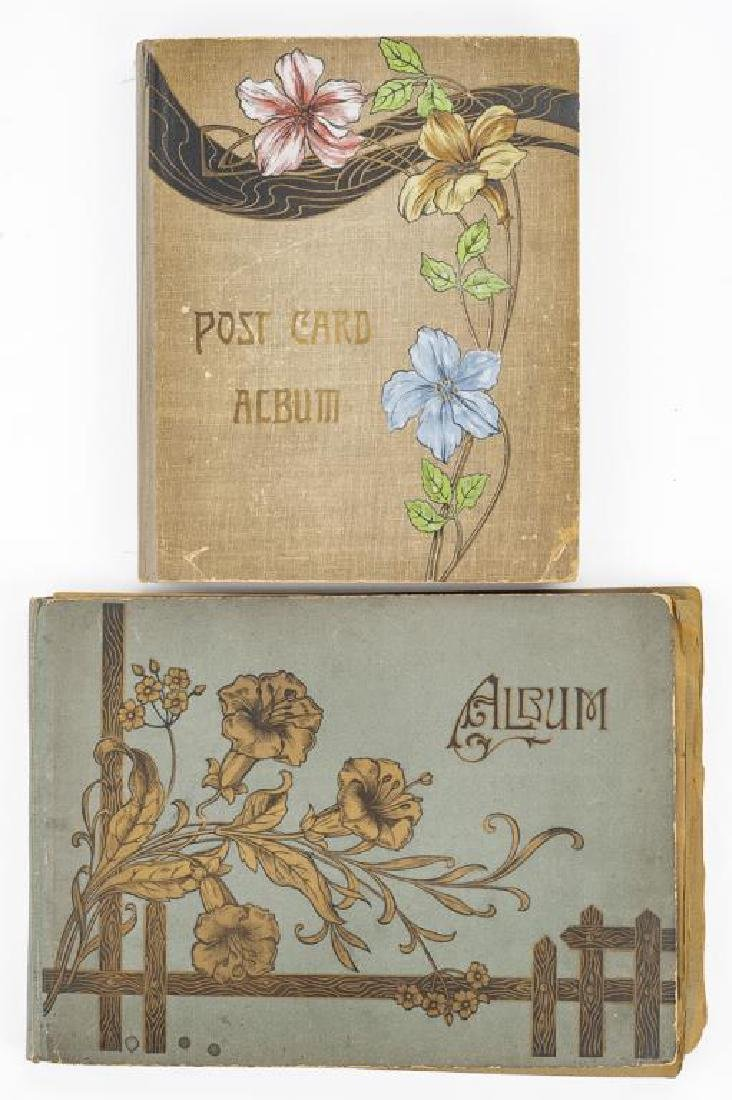 Approx 400 Vintage Postcards in Albums