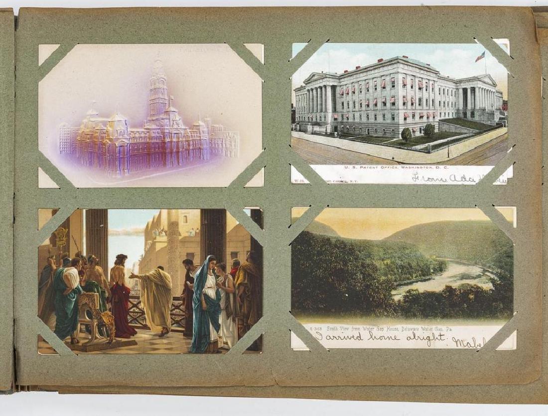 Approx 400 Vintage Postcards in Albums - 4