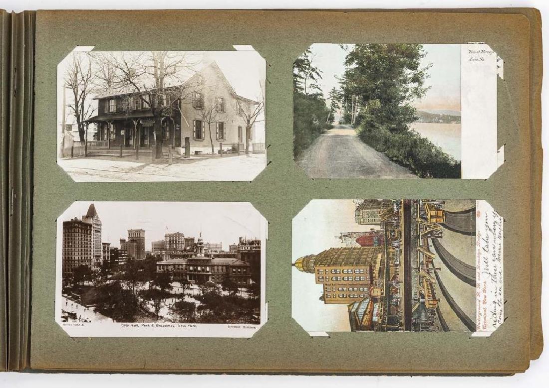 Approx 400 Vintage Postcards in Albums - 5