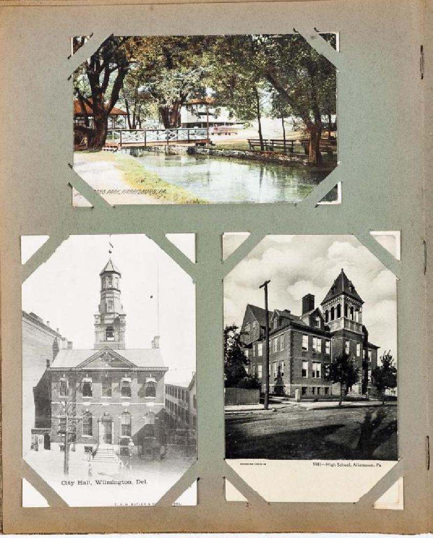 Approx 400 Vintage Postcards in Albums - 6