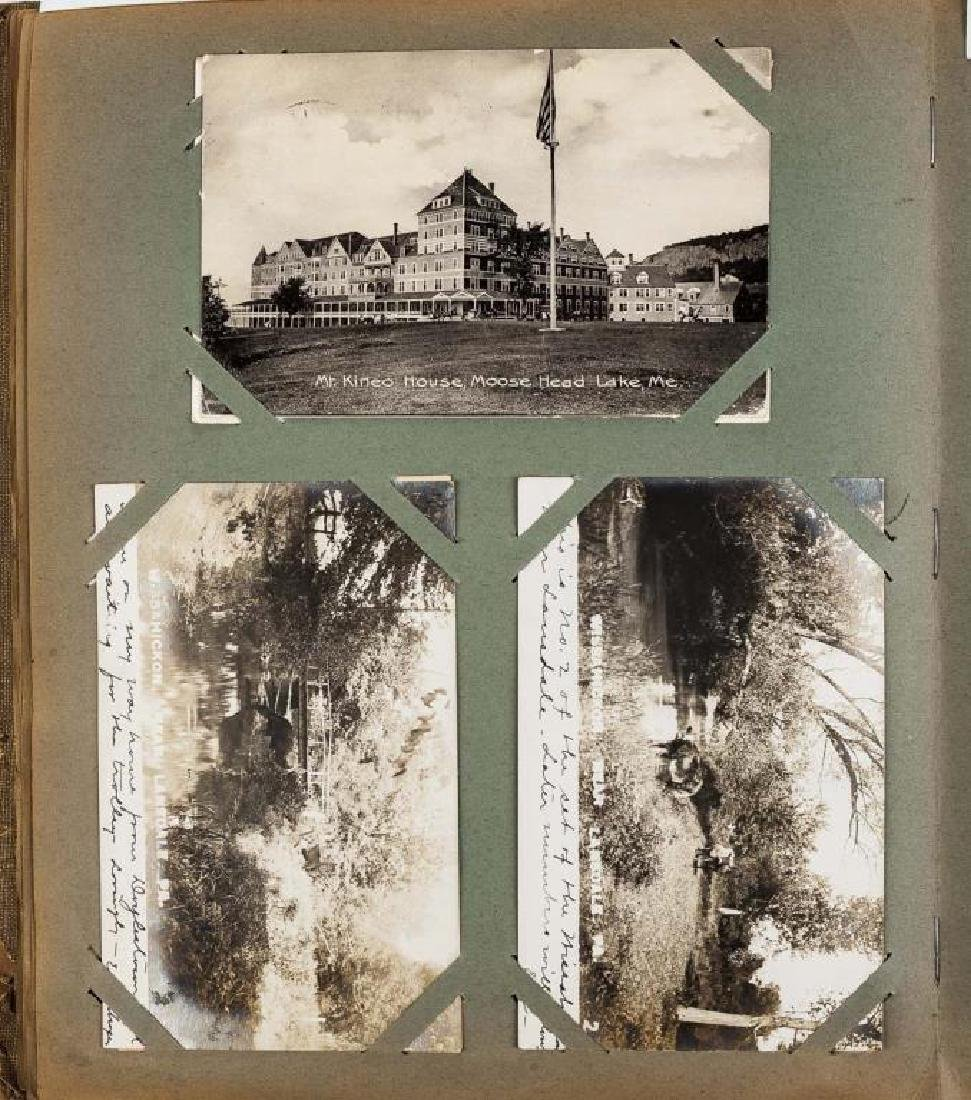 Approx 400 Vintage Postcards in Albums - 7
