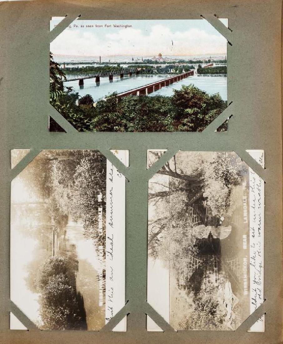 Approx 400 Vintage Postcards in Albums - 8