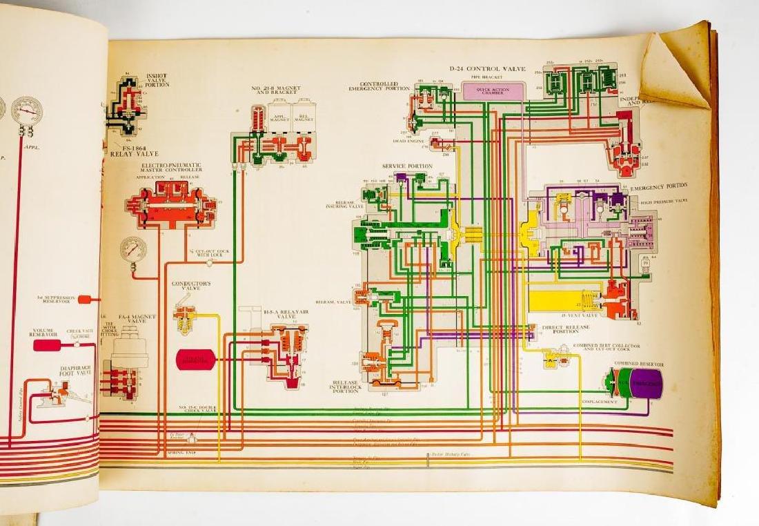 2 Train Brake Repair/Diagram Manuals C. 1940s - 4