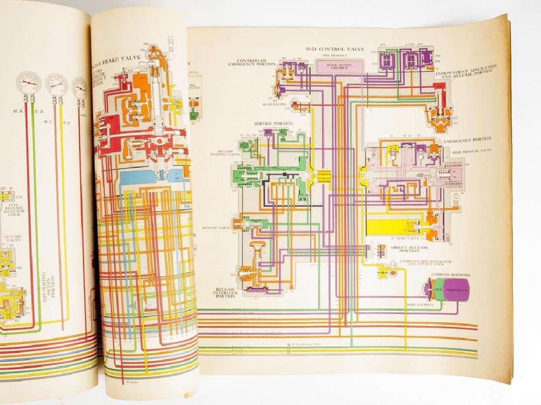 2 Train Brake Repair/Diagram Manuals C. 1940s - 5