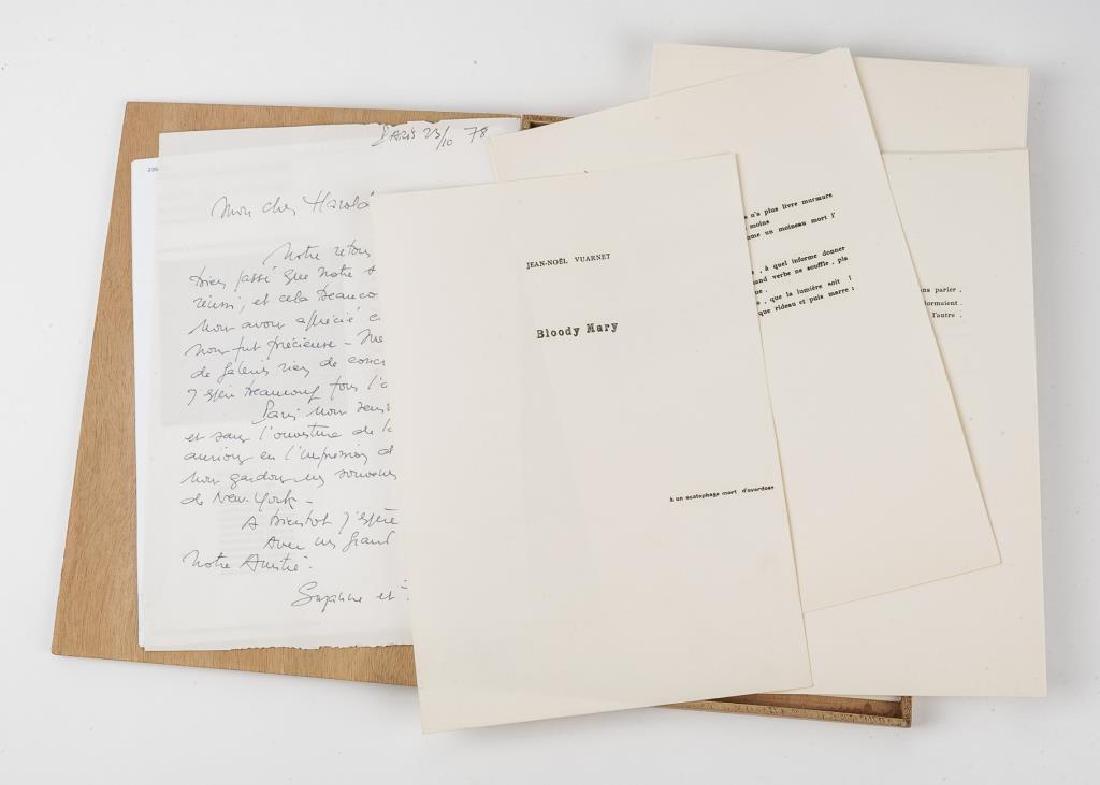 Frederick Benrath Serigraphs & Signed Letter