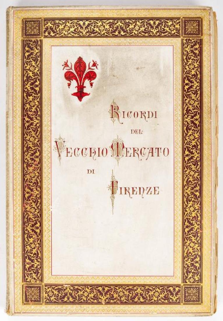 Ricordi del Vecchio Mercato di Firenze by Carocci
