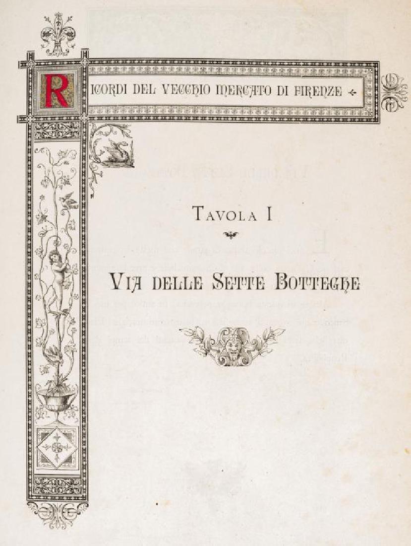 Ricordi del Vecchio Mercato di Firenze by Carocci - 4