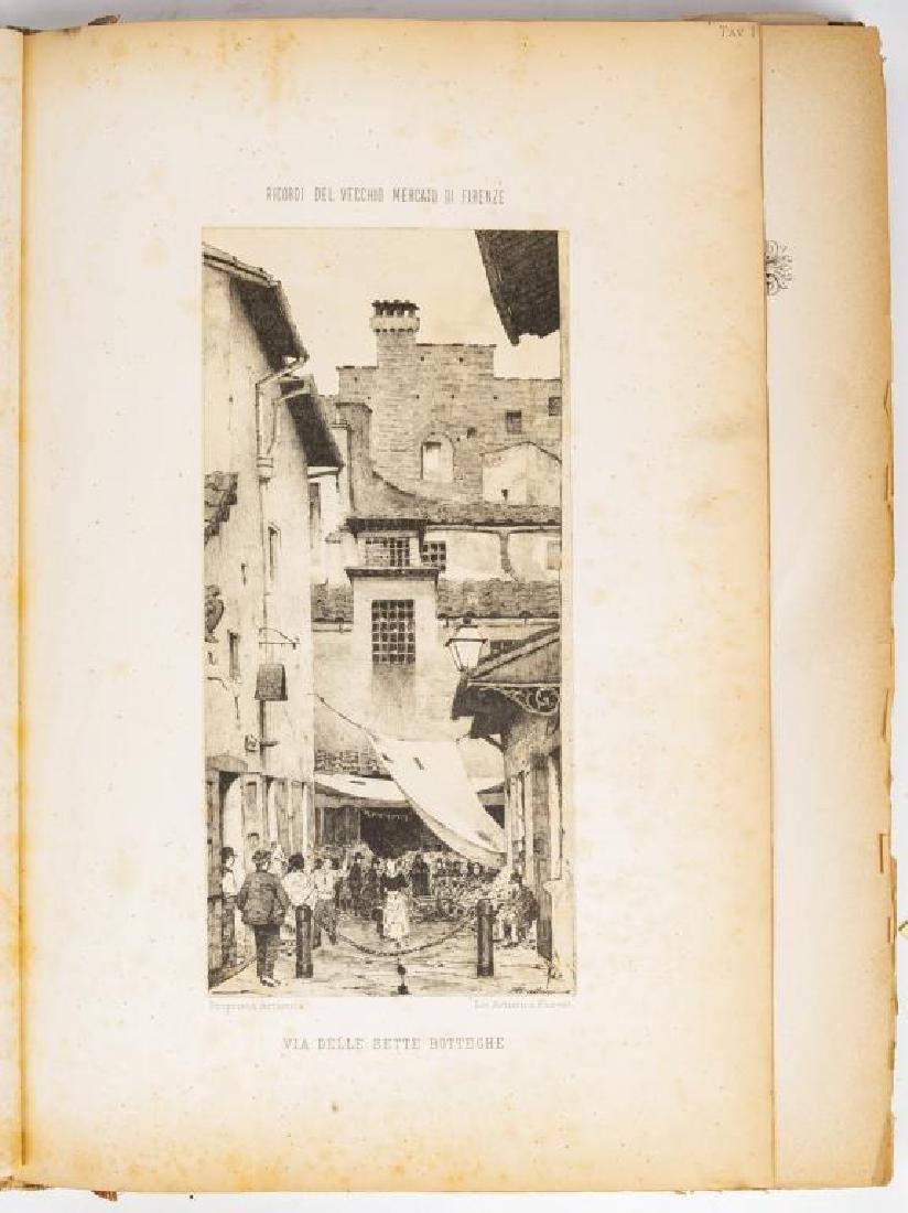Ricordi del Vecchio Mercato di Firenze by Carocci - 5
