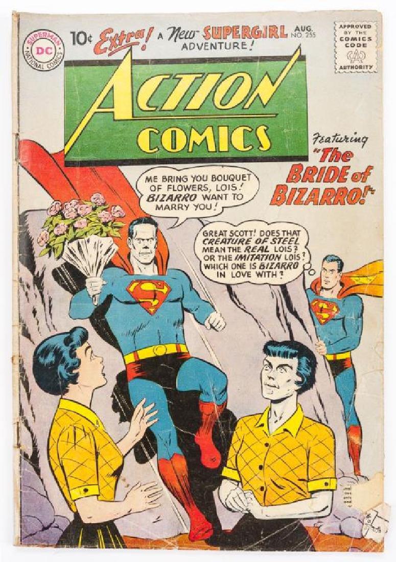 7 Vintage Comics Incl Archie, Action Comics, More - 2