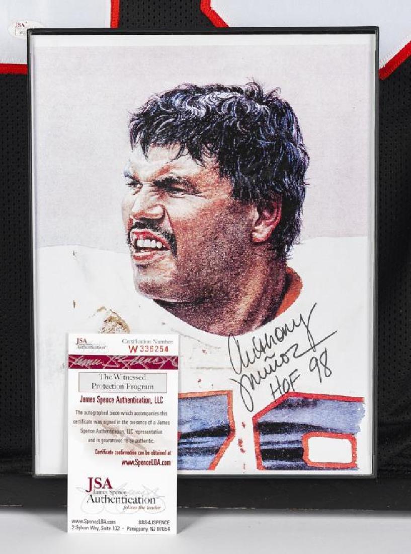 Autographed Anthony Munoz Football Jersey - 2