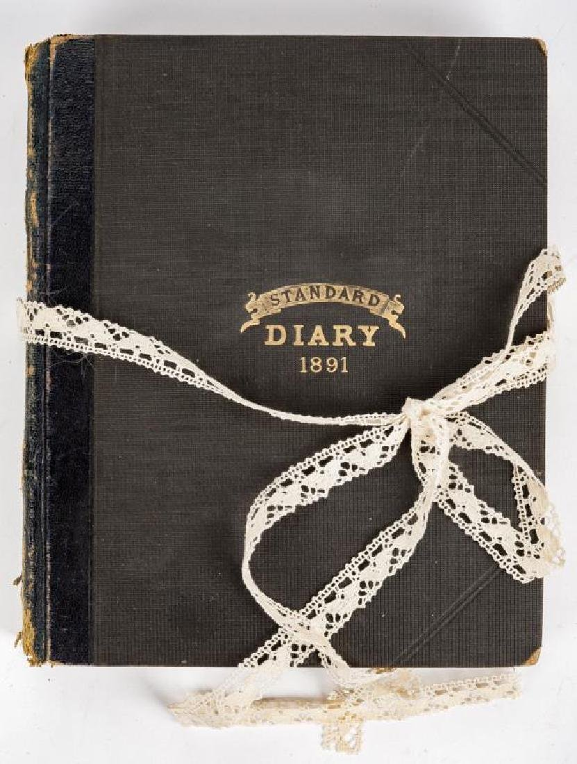 1891 & 1892 Diaries of the Findlay Family of Ohio - 3