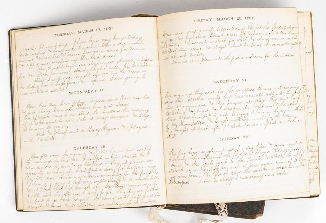 1891 & 1892 Diaries of the Findlay Family of Ohio - 5