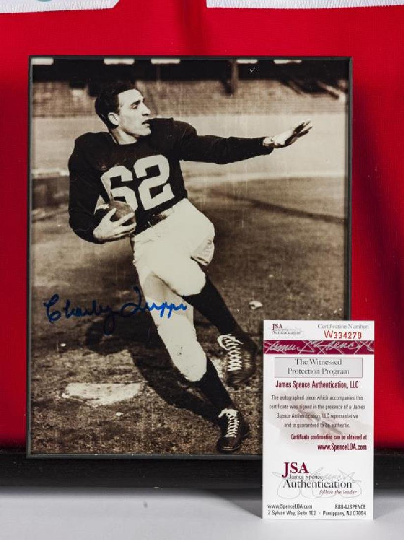 Autographed Charley Trippi NCAA Football Jersey - 2