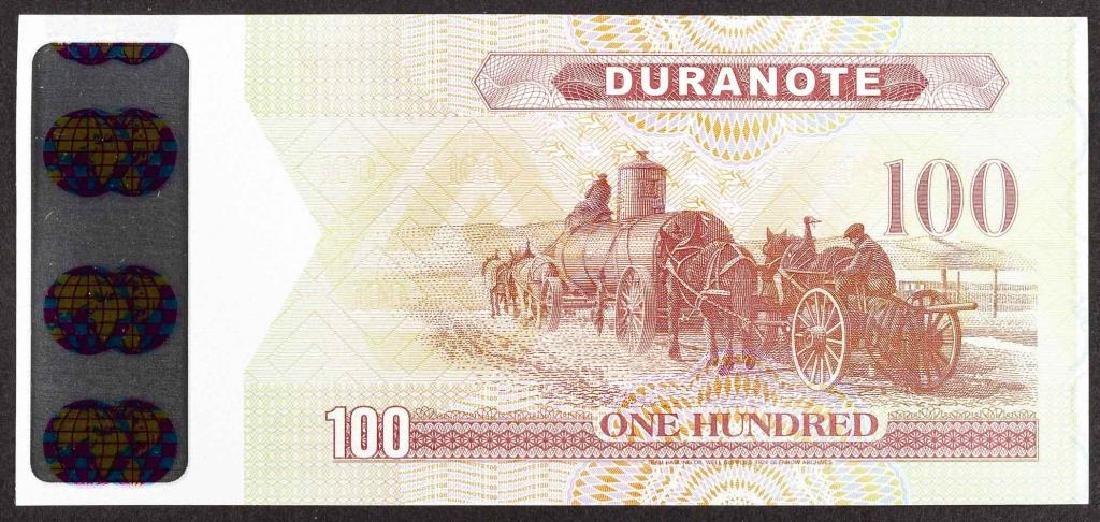 26 Duranote 100 Units Banknote Specimens - 2