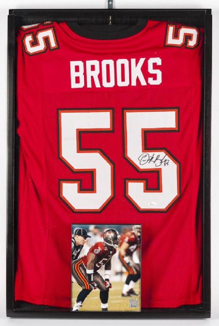 Autographed Derrick Brooks Football jersey