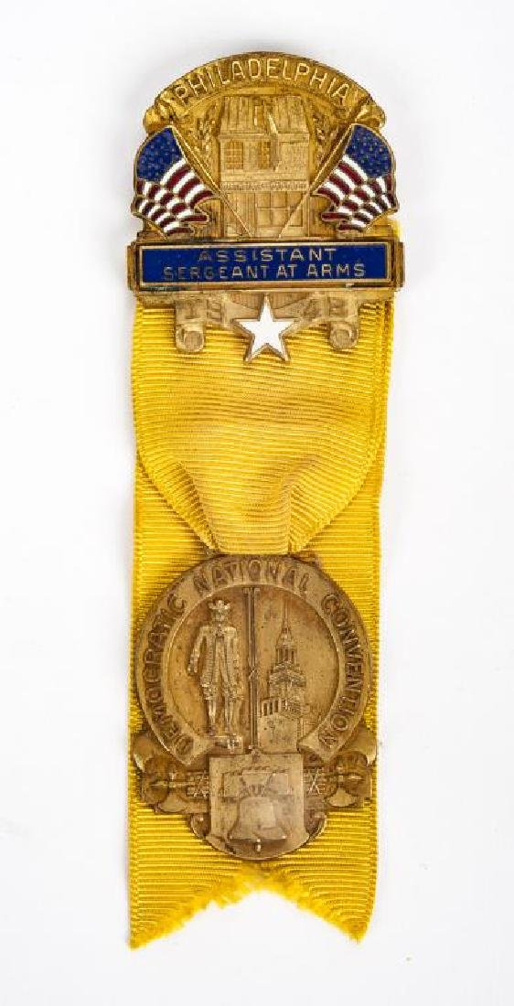 1948 Democratic National Convention Medal